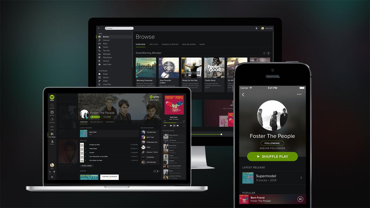 Spotify startet Video-Werbung für das kostenlose Musik-Streaming in der App und Desktop-Version