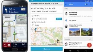 Android-Hits der Woche: Inbox für Gmail, HERE Maps und Busliniensuche