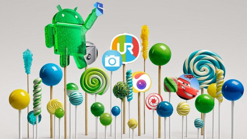 App-Hits im Oktober: Android Lollipop, Kamera-Apps und Google Inbox