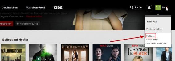 Netflix Filme Und Serien Aus Kürzlich Angesehen Liste Löschen