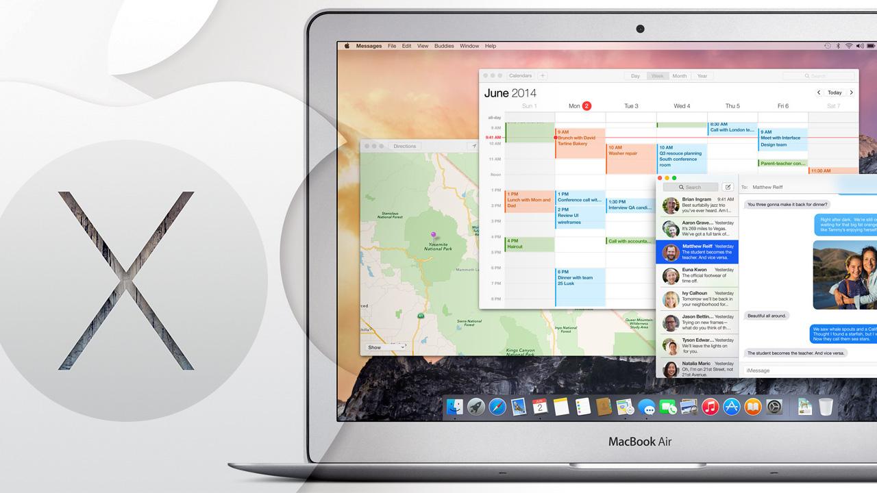 Mac OS X 10 Yosemite empfiehlt Safari statt Mozilla Firefox und Google Chrome