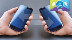 Inhalte mit dem Android-Smartphone, iPhone oder Windows Phone teilen