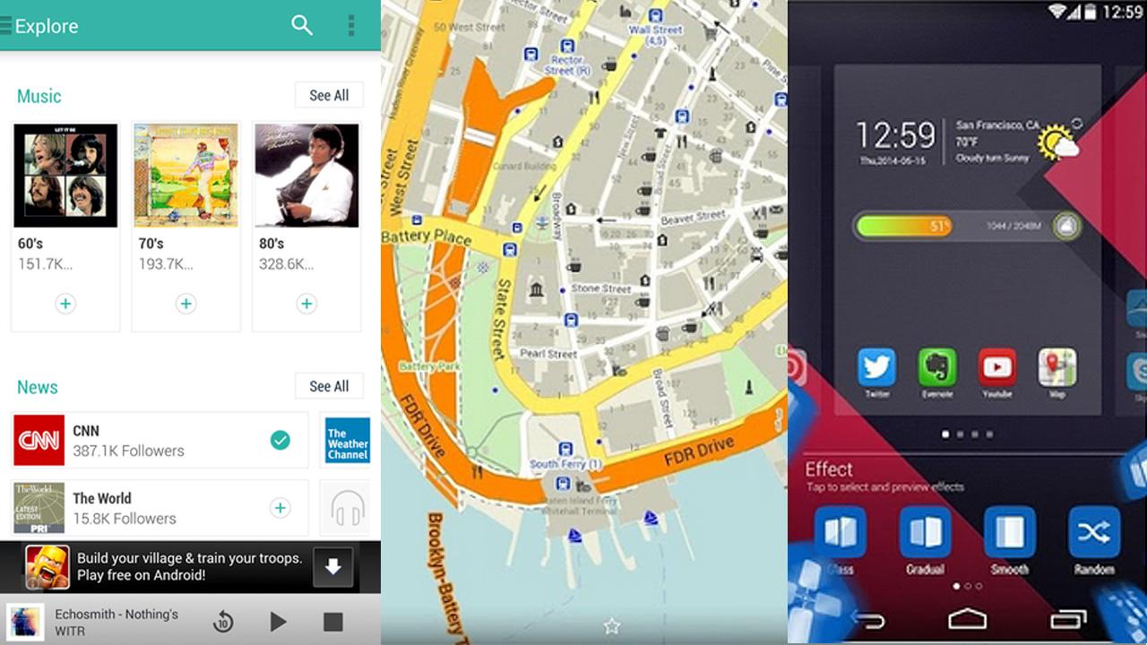 Android-Apps der Woche: Offline-Karten, Snake-Nachfolger und TuneIn Radio