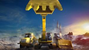 Mit dem Bagger-Simulator Dig It! werden Sie Ihr eigener Bauunternehmer