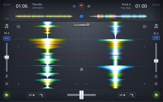 Die von Apple preisgekrönte DJ-App djay 2 ist jetzt auch für Android erhältlich