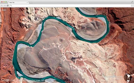 Google Maps: Mit einer kostenlosen Erweiterung verschönern Sie neue Tabs in Google Chrome mit Satellitenbildern