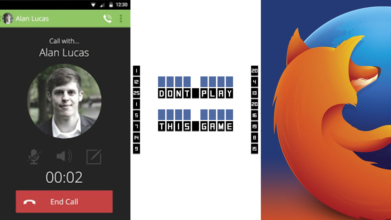 Android-Apps der Woche: Firefox 33, privater Chat, einfallsreiches Puzzle