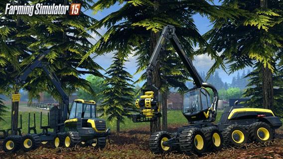 Landwirtschafts-Simulator 15 mit neuer Grafik und Forstwirtschaft ist ab sofort erhältlich