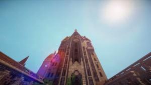 Besuchen Sie die Zaubererschule Hogwarts aus Harry Potter in Minecraft