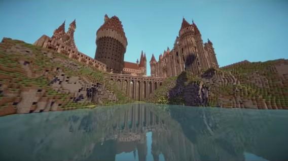 Minecraft: Besuchen Sie die Zaubererschule Hogwarts aus Harry Potter im Aufbauspiel