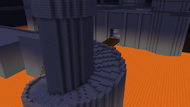 Minecraft und Mario Kart: Pferderennen in Bowser's Castle