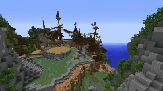 Minecraft Realms: Neue Minispiele und aufregende Welten in Minecraft