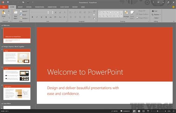 Microsoft Office: Neue Funktionen des Version 16 des Office-Pakets