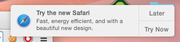 Mac OS X 10 Yosemite: Apple empfiehlt Safari statt Mozilla Firefox und Google Chrome
