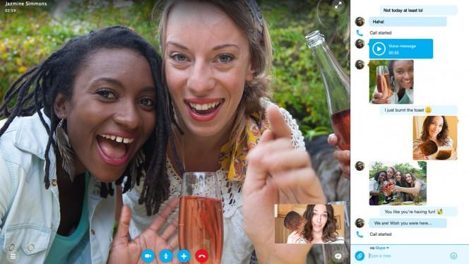 Skype: Neues Design für Windows und Mac konzentriert sich auf Chat-Nachrichten