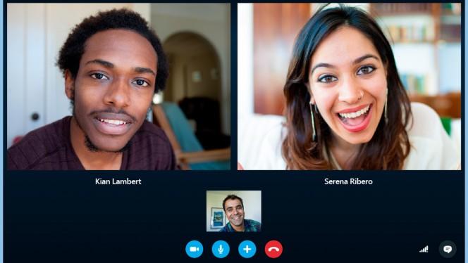 Skype: Update für Windows und Mac mit neuem Design und größeren Smileys