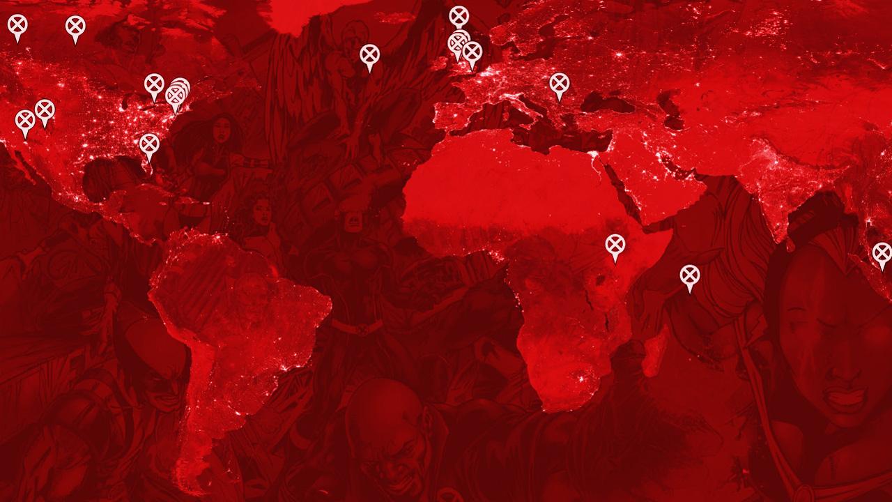 Google Maps: Mit World of X erkunden Sie die Welt von X-Men und das Marvel-Universum
