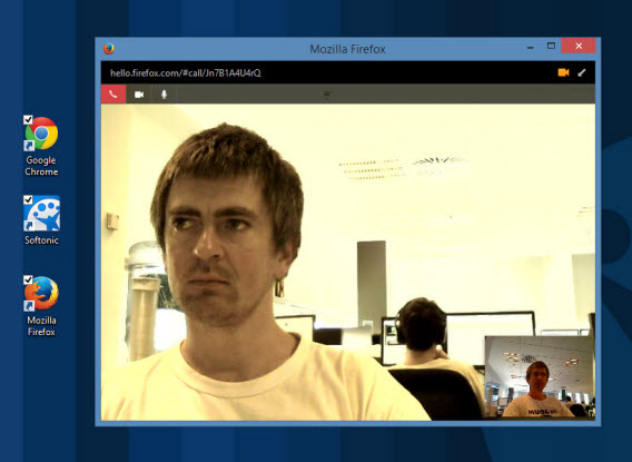 Firefox Hello WebRTC Skype alternative