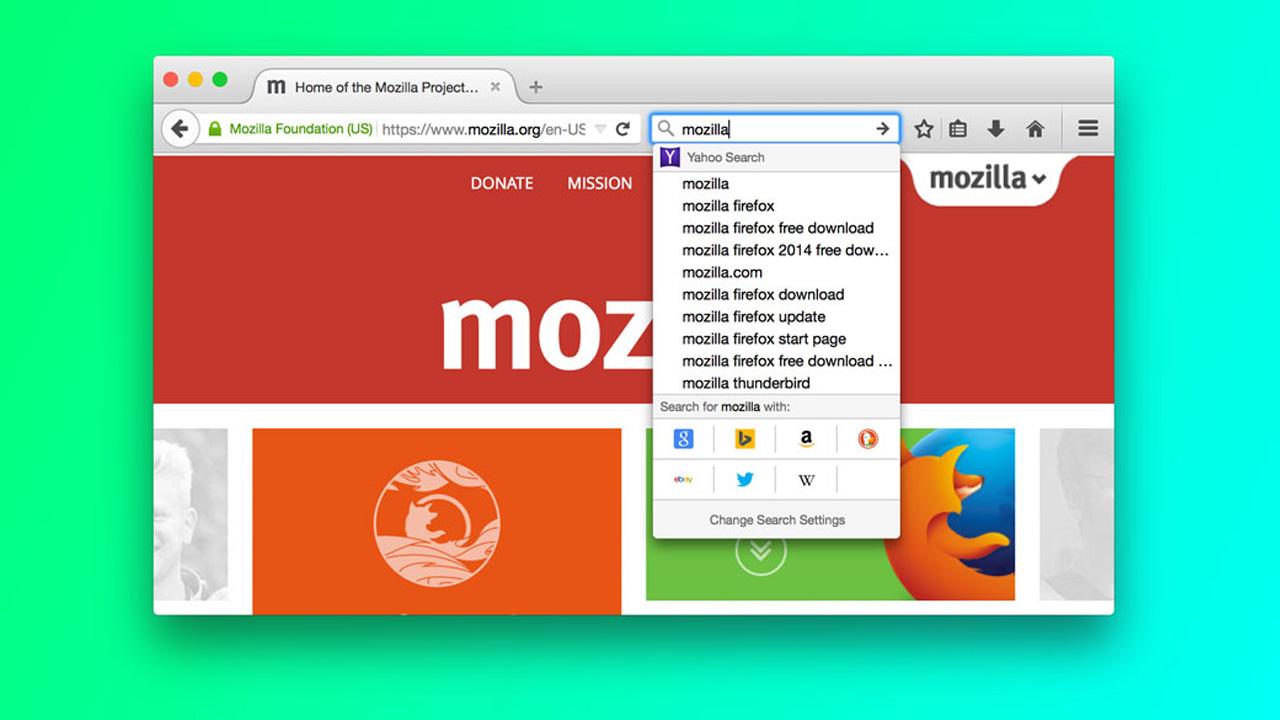 Neue Suche im Firefox: Mozilla setzt auf große Buttons