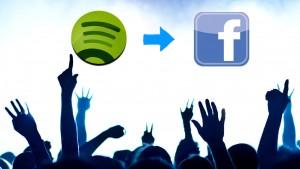 Die Musik von Spotify auf Facebook teilen