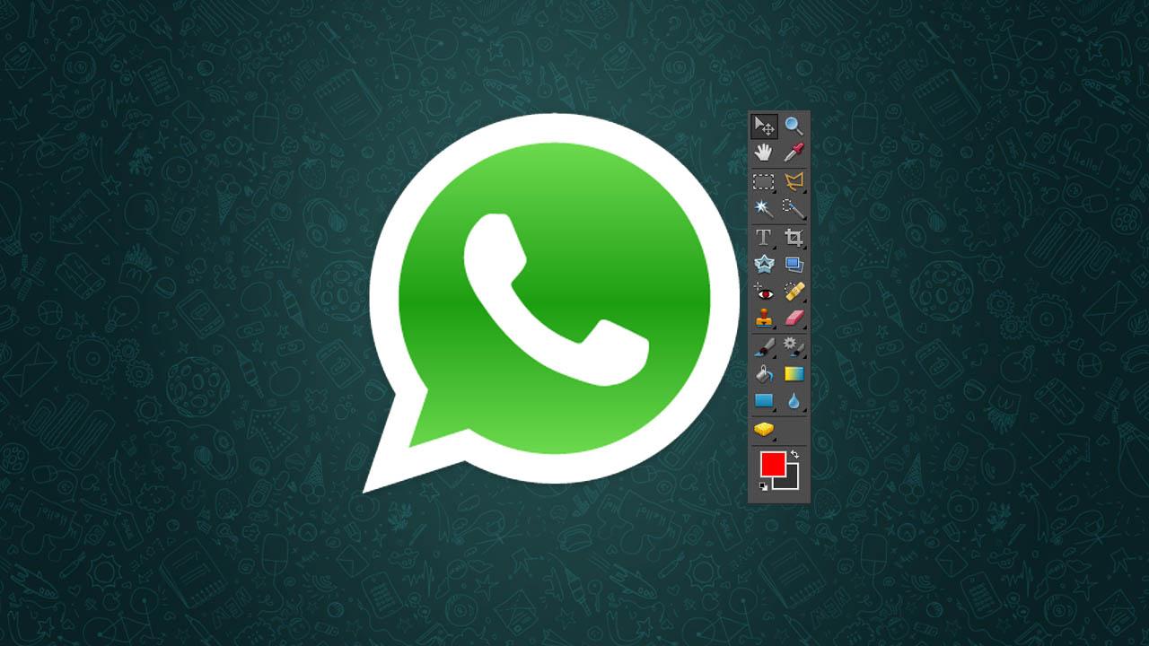 Fotos in WhatsApp bearbeiten