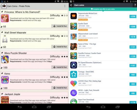 Manter aplicativos instalados pode render um bom dinheiro