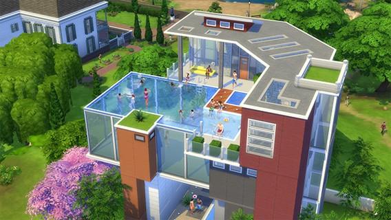 Die Sims 4: Spaß im Nass – Die Swimming Pools als kostenlose Spielerweiterung