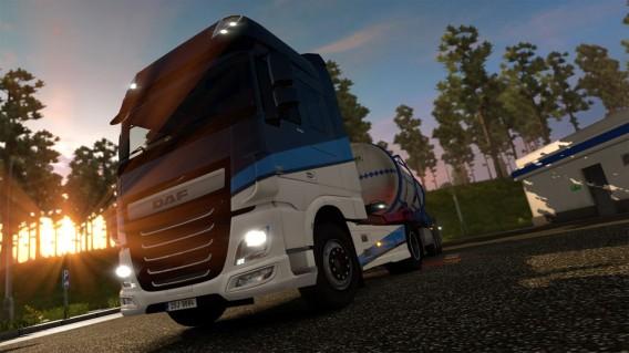 Euro Truck Simulator 2: Version 1.14 mit neuem DAF-Truck und Liftachsen