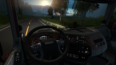 Euro Truck Simulator 2: Neue Beleuchtung des Armaturenbretts und Fehlerbehebungen