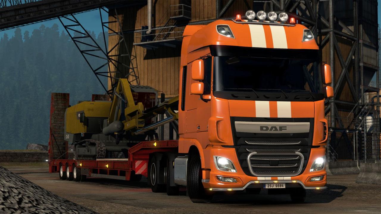 Weihnachten im Euro Truck Simulator 2: Weihnachts-DLC ist kostenlos