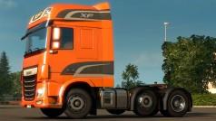 Euro Truck Simulator 2: Version 1.14 mit neuem Truck DAF XF Euro 6 und Liftachsen