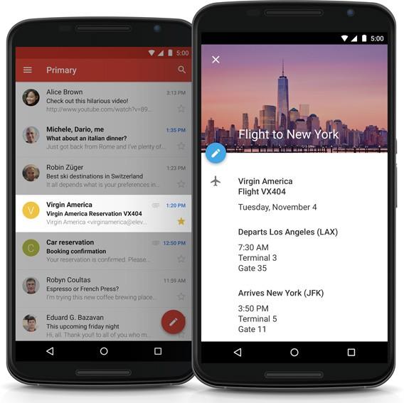 Google Kalender für Android wird zum persönlichen Assistent mit neuen Gmail-Funktionen und neuem Design
