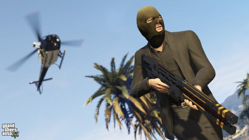 Grand Theft Auto V: Neuer Trailer zeigt den Ego-Shooter-Modus von GTA 5 in Spielszenen