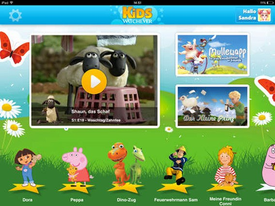 TV für Kinder: Filme und Serien für Kinder streamen mit KiDS by WATCHEVER