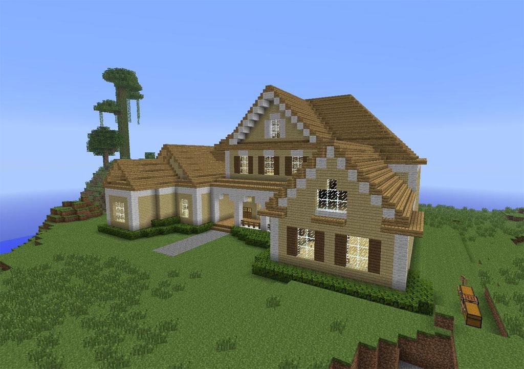 Ein Haus In Minecraft Bauen - Minecraft hauser schnell bauen