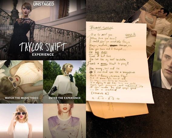 Taylor Swift Musikvideo Blank Space als interaktives Spiel für Android und iOS