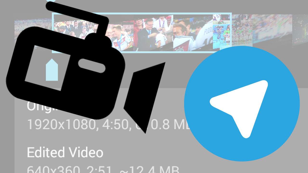 Telegram Videos Schneiden Und Verschicken