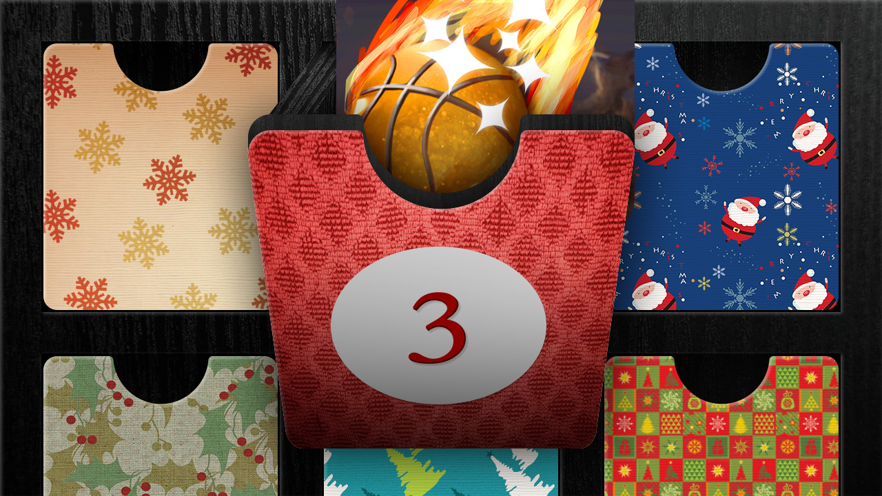 Adventskalender 3. Dezember: Körbe werfen auf Android und iPhone