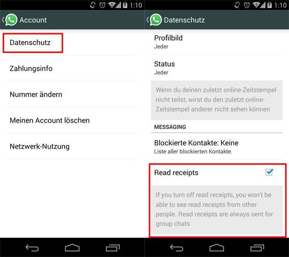 WhatsApp: Lesebestätigung deaktivieren mit der neuen Beta-Version der Messenger-App