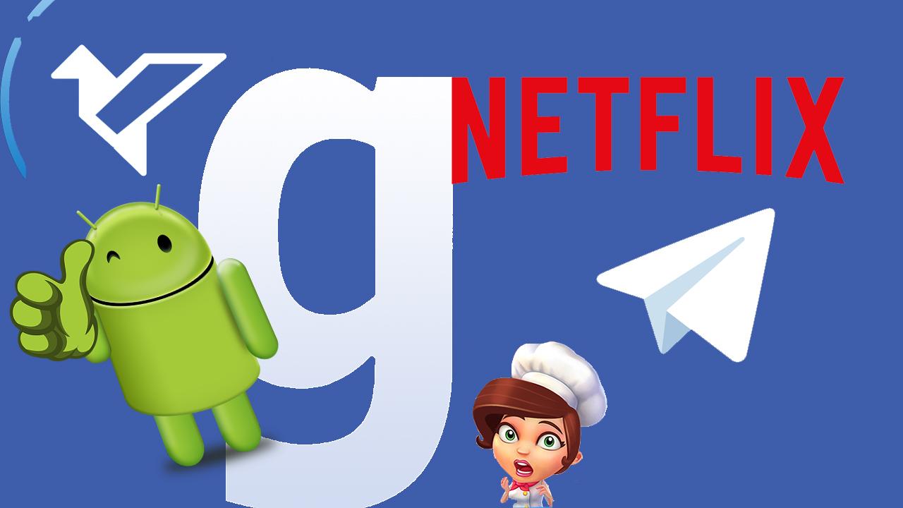 Android-Hits im November: Telegram, Netflix und Facebook Groups
