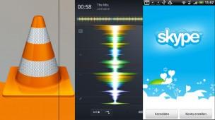 VLC wird erwachsen, Auflegen auf dem Android, Skype: Die Android-Apps der Woche