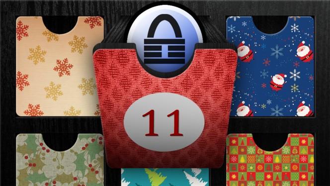 Adventskalender 11. Dezember: Sichere Passwörter überall