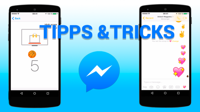Tricks facebook messenger