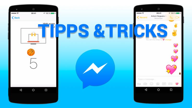 14 unbekannte Facebook Messenger Tricks