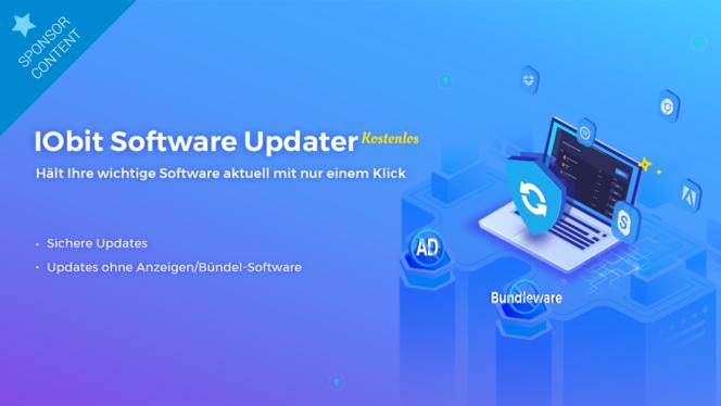 IObit Software Updater: Alle Programme mit nur einem Klick updaten