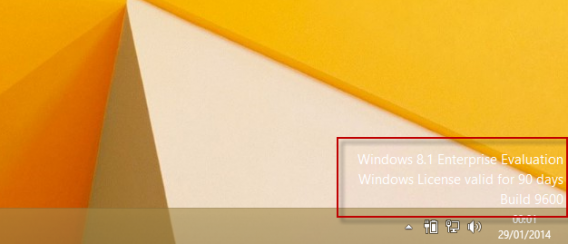Windows 8.1 90 days