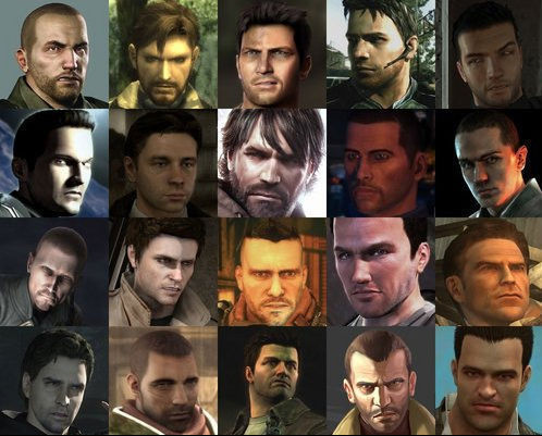 Video Games Characters Straight White Male Trope