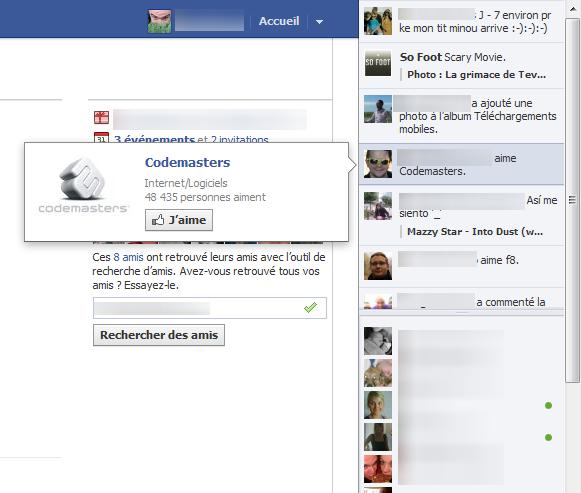 Facebook d couvrir les nouvelles fonctionnalit s en un for Fenetre volante
