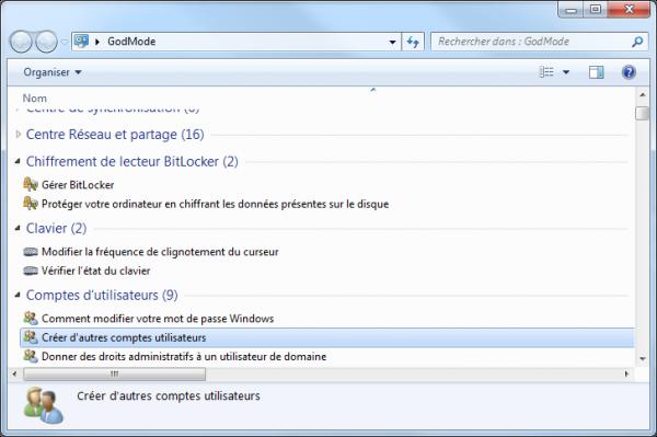 Activer le God Mode sous Windows Softonic