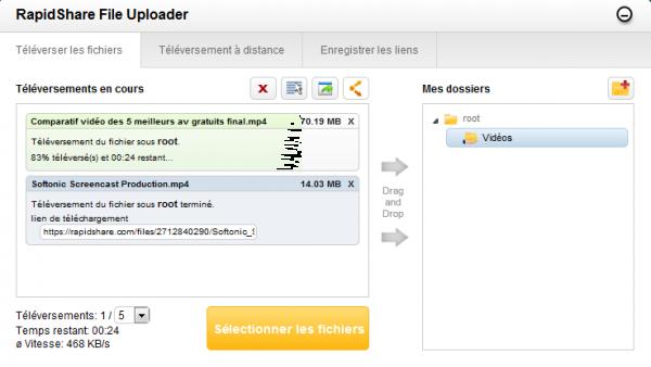 Dossier MegaUpload : RapidShare, l'autre moyen de partager des fichiers volumineux